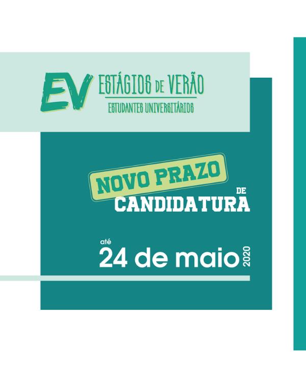 ESTAGIOS DE VERAO 24 de maio