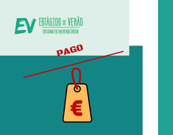 ESTÁGIOS DE VERÃO | Pagamento de compensações dos jovens