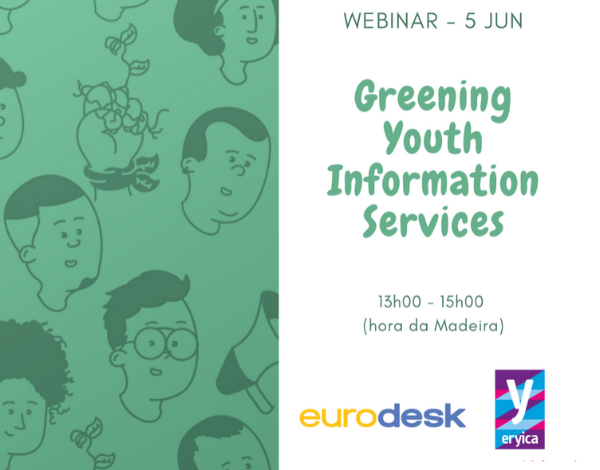 Greening Youth Information Services | webinar de lançamento
