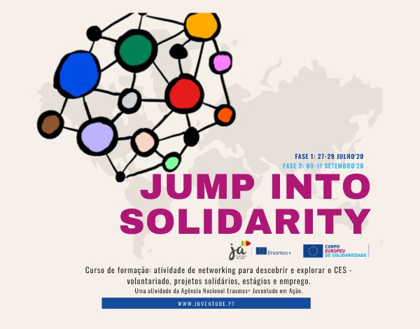Jump into Solidarity at National level (curso de formação em português)