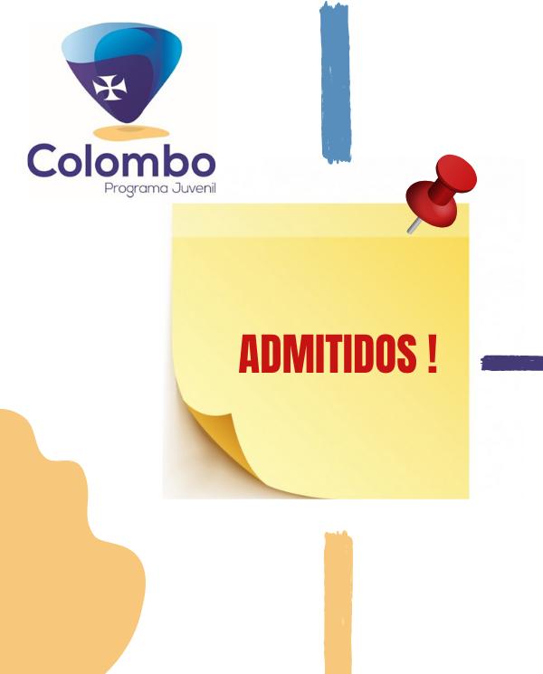 COLOMBO 2020 - CANDIDATOS ADMITIDOS