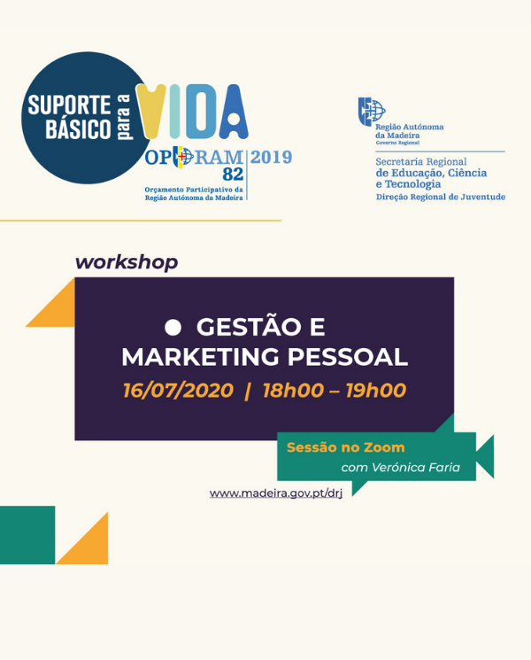 WORKSHOP GESTAO E MARKETING PESSOAL
