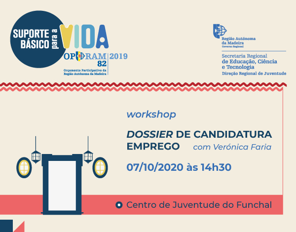 "Workshop ""Dossier de Candidatura a Emprego"""