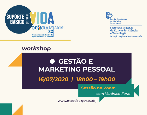 """Workshop """"Gestão e Marketing Pessoal"""""""