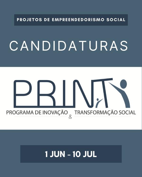 Candidaturas ao PRINT