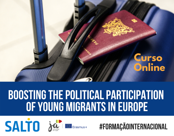 Curso online | CONNECT & ENGAGE: Boosting the political participation of young migrants in Europe