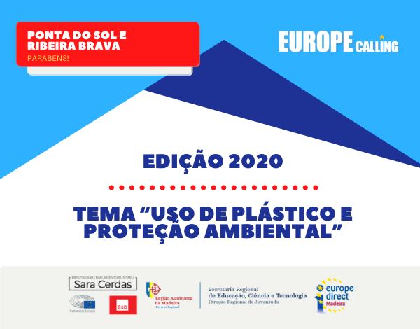 Ponta do Sol e Ribeira Brava vencem Concurso Europe Calling