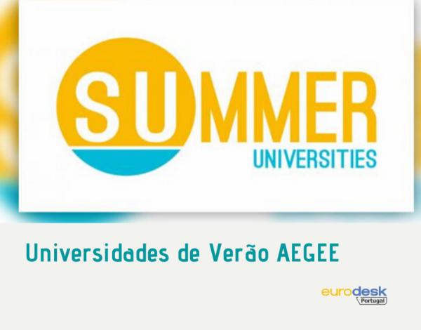 Queres participar numa Universidade de Verão AEGEE?