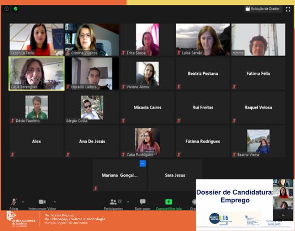 DRJ promove Workshop sobre Dossier de Candidatura | Emprego