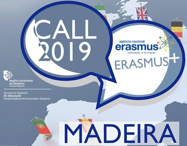 Erasmus+ Call 2019 - Alteração do Local da Formação