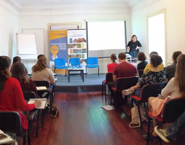 Casa cheia no Workshop Soft Skills e Técnicas de Coaching