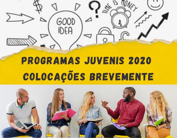 Programa Juvenis 2020 | colocações a partir de 15 de junho