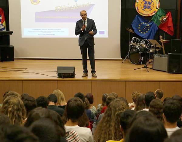 """Seminário """"Ethicsboard – Ética, Empreendedorismo e Educação"""""""