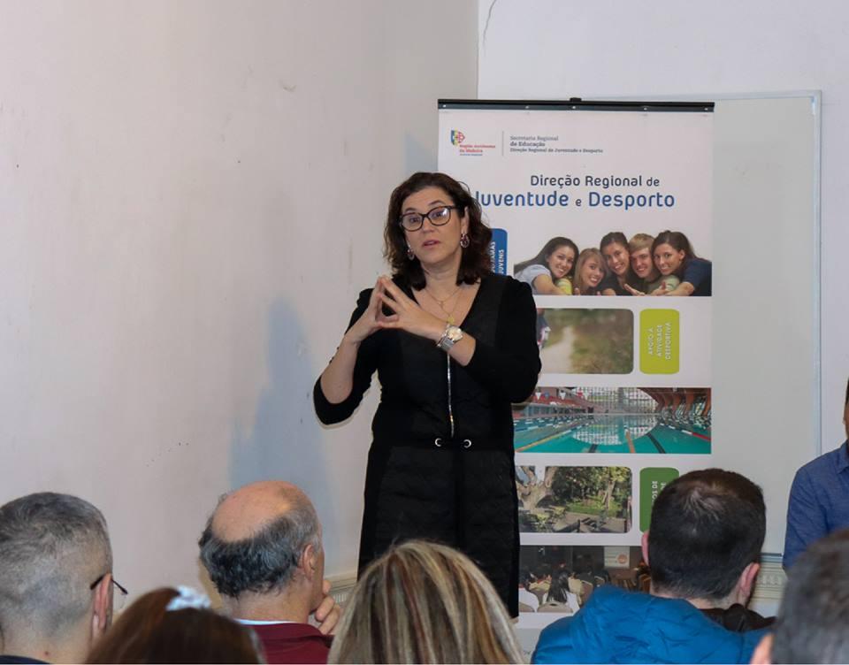 DRJD Promoveu Sessão de Formação Erasmus+ EF