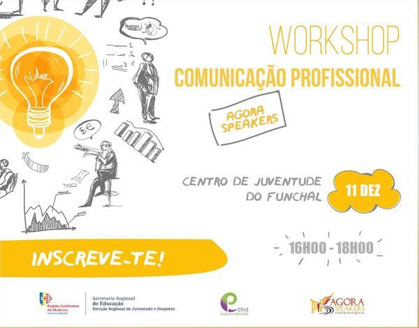 Comunicação Profissional - workshop gratuito