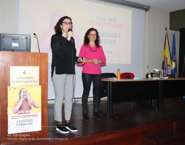 Semana Europeia da Juventude na Madeira termina com auditório cheio na Escola da Levada