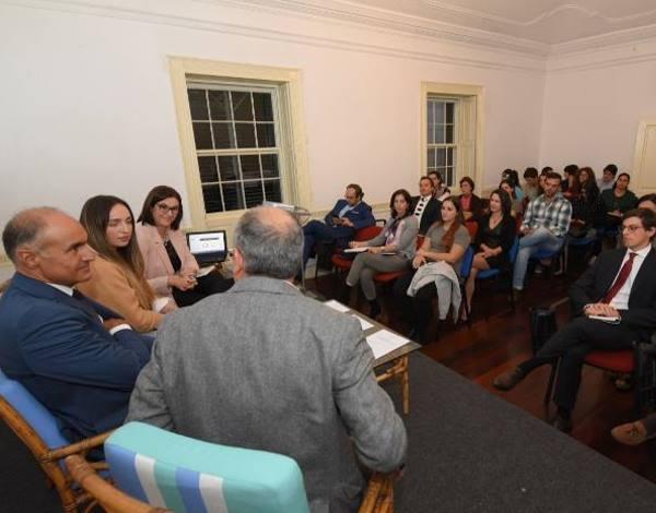 Conselho de Juventude reuniu com Jorge Carvalho