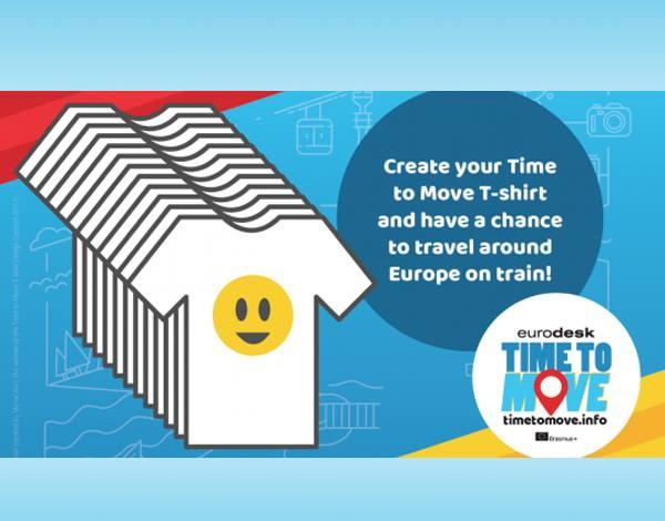 Desenha uma T-Shirt e candidata-te a viajares pela Europa