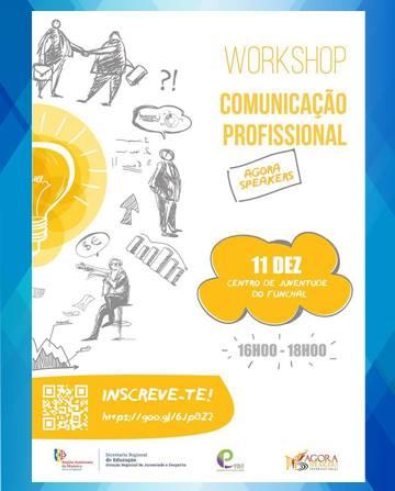 """workshop """"Comunicação Profissional"""""""
