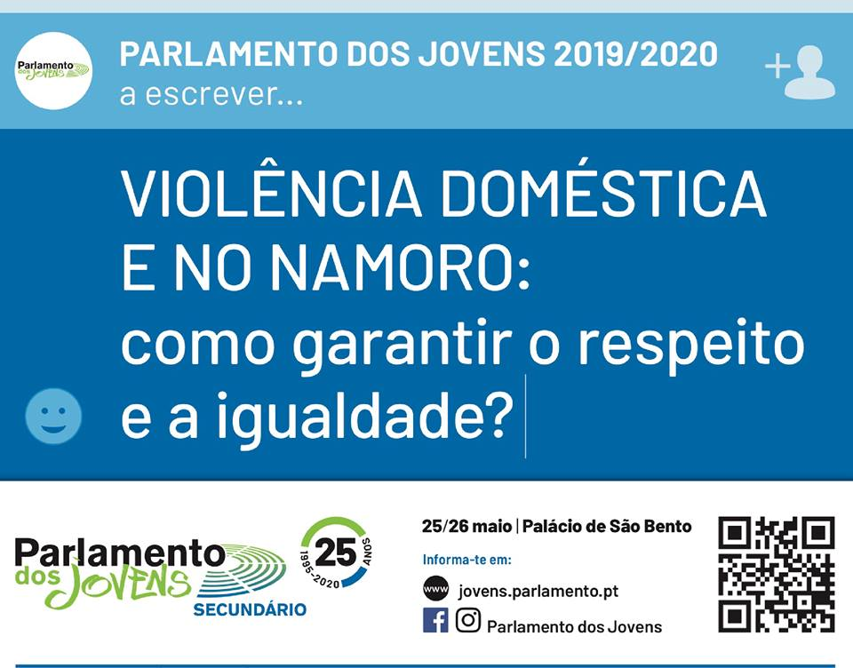 Parlamento dos Jovens debate a violência no namoro