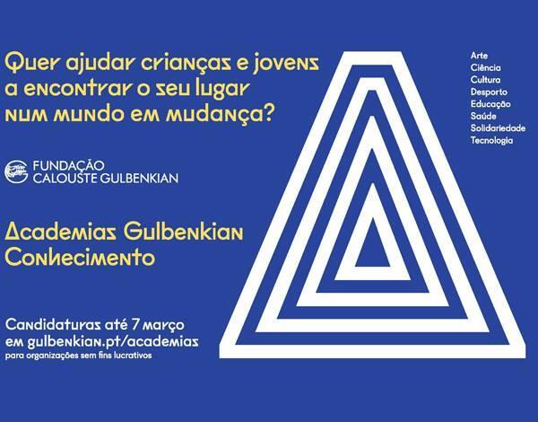 Candidaturas para as Academias Gulbenkian do Conhecimento Abertas