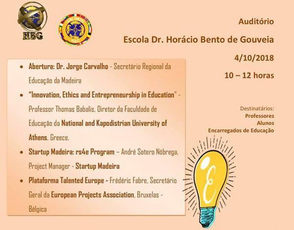 HBG apresenta Ética, Empreendedorismo e Educação
