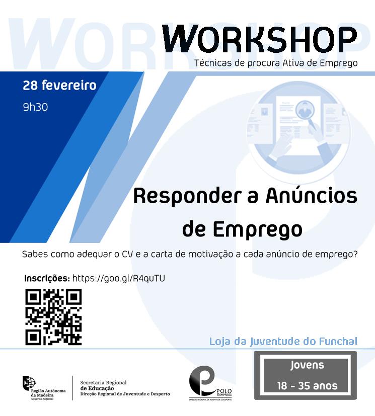 Responder a anúncios de emprego | workshop