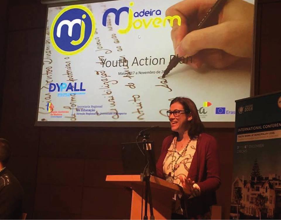 Diretora de Serviços de Juventude apresentou Madeira Jovem em Conferência Internacional.