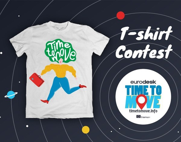 Concurso de Design T-Shirt Time to Move