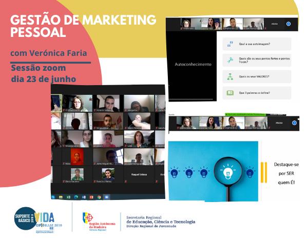 Workshop de Gestão de Marketing Pessoal muito participado