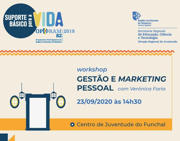 Gestão e Marketing Pessoal | 23 de setembro - Workshop Presencial