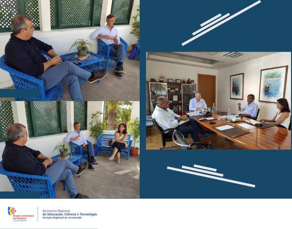 Direção Regional de Juventude reúne no Porto Santo