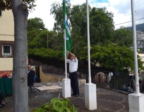 O STEE hasteou a 9ª Bandeira Verde