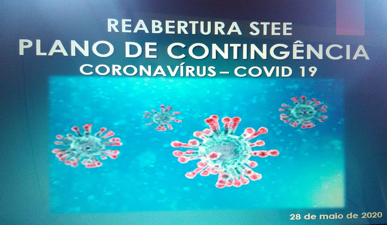 O STEE apresentou o seu Plano de Contingência – COVID-19