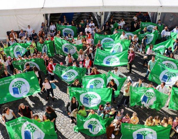 O STEE recebeu a 9º bandeira Eco-Escolas