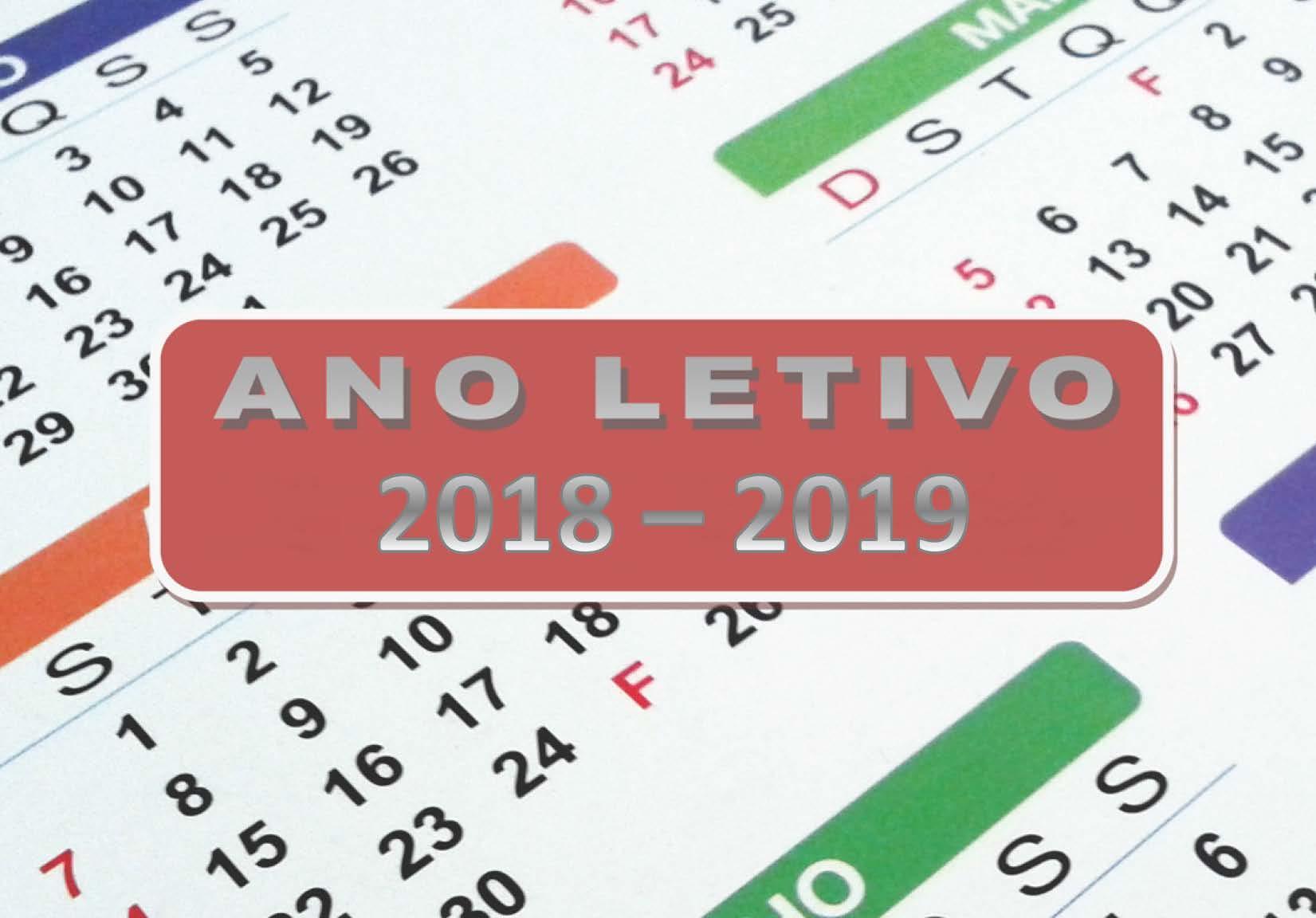 Calendário Escolar 2018 / 2019