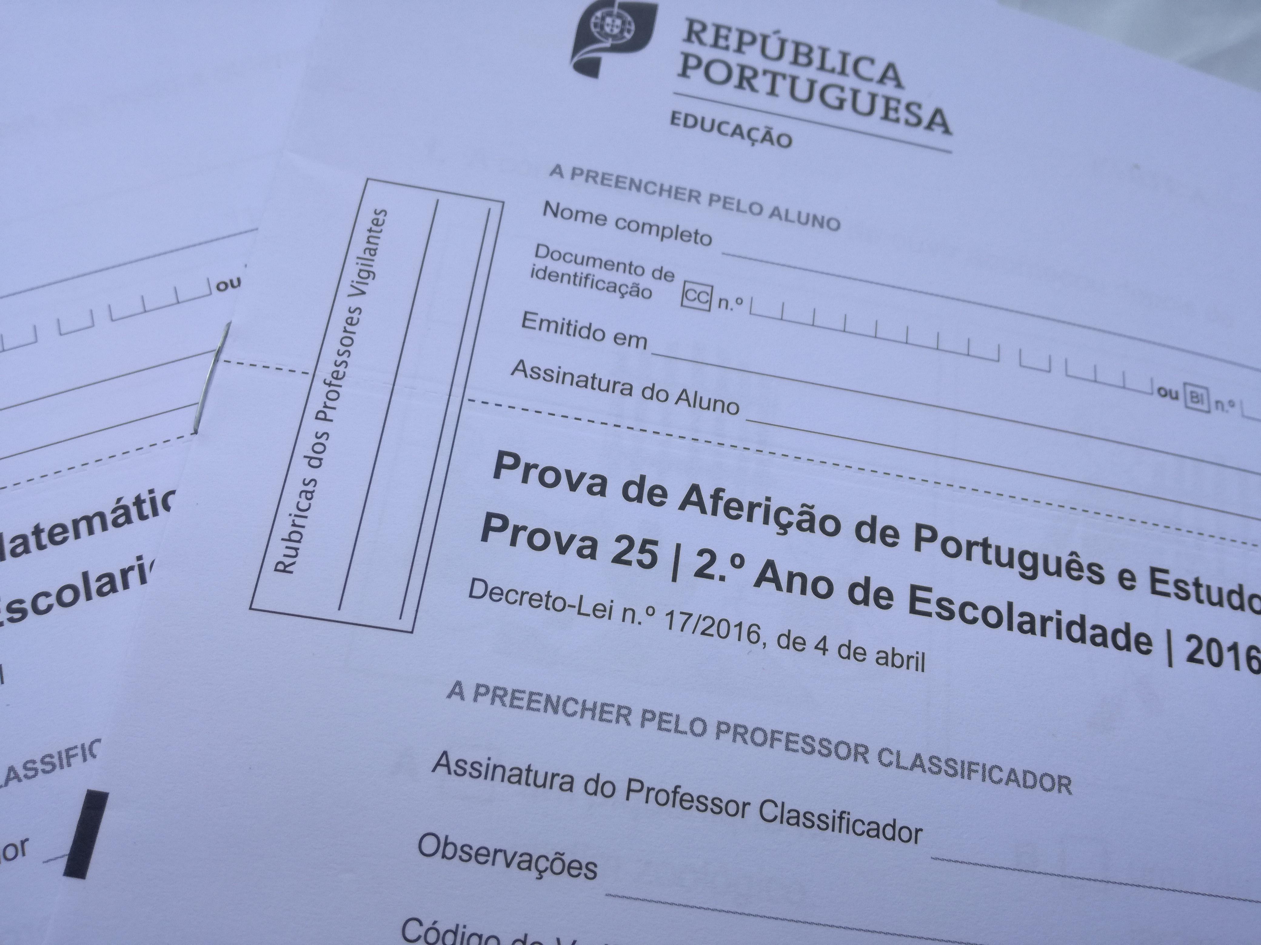 Calendário das Provas de Aferição do Ensino Básico - 2019