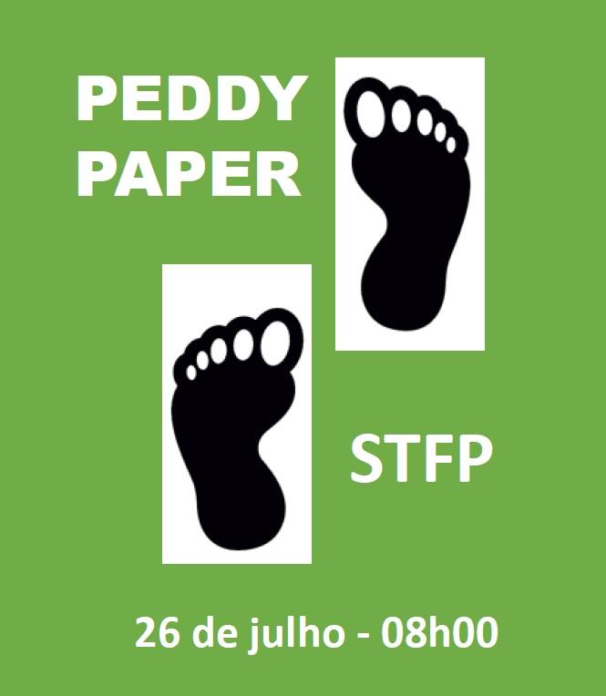 Serviço Técnico de Formação profissional realiza Peddy Paper - Con(Viver) com Regras