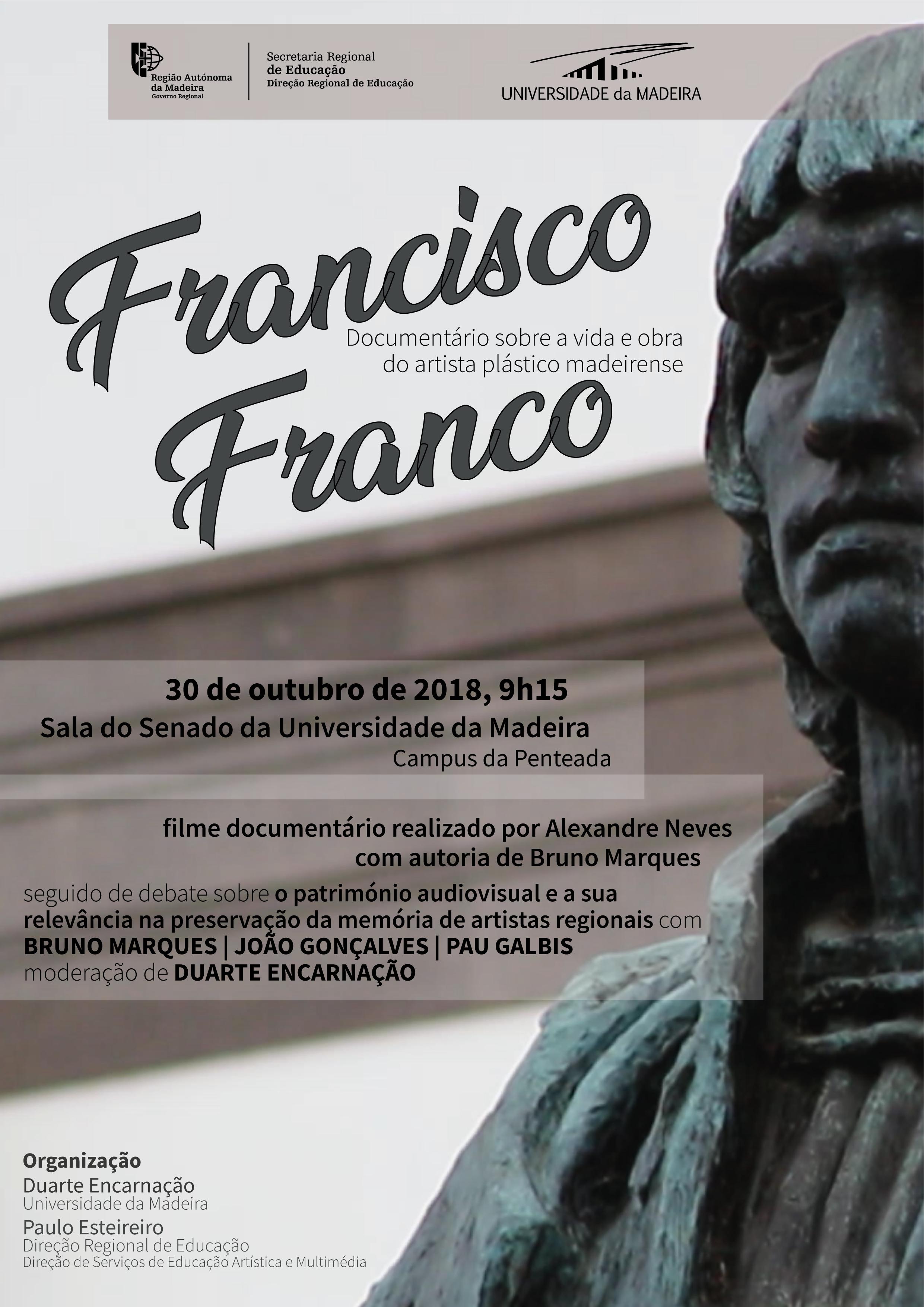 Documentário 'Francisco Franco' exibido no próximo dia 30 de outubro