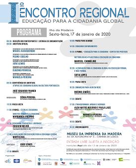 I Encontro Regional Educação para a Cidadania Global