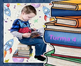 O livro, o jogo e o imaginário infantil (turma 4)