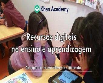 """Oficinas de Formação """"Khan Academy: Recursos Digitais para o Ensino e Aprendizagem"""""""