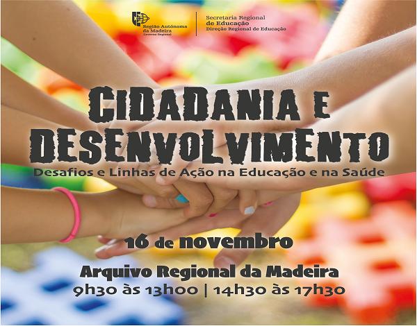 """Abertura de inscrições na atividade formativa """"Encontro de Reflexão e Formação Cidadania e Desenvolvimento - Desafios e Linhas de Ação na Educação e na Saúde"""""""