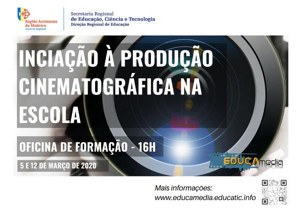 Produção Cinematográfica na Escola - Iniciação