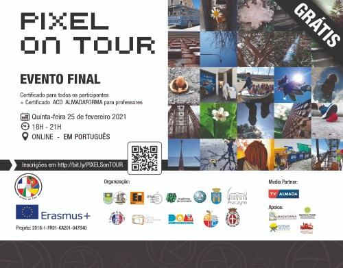 PROGRAMA ERASMUS +/Projeto Pixels On Tour (POT) -  Press Release