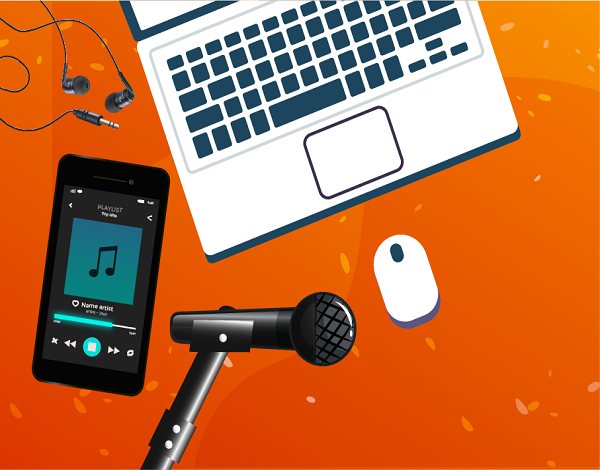 Produzir música com o telemóvel/computador - BANDLAB