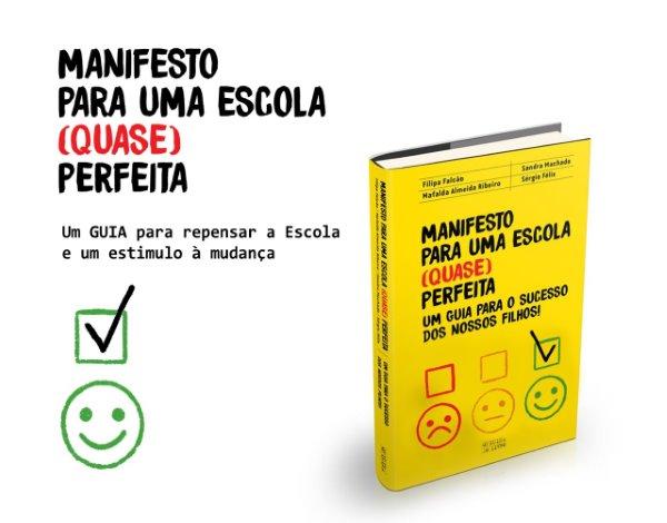 """Livro """"Manifesto para uma escola (quase) perfeita"""""""