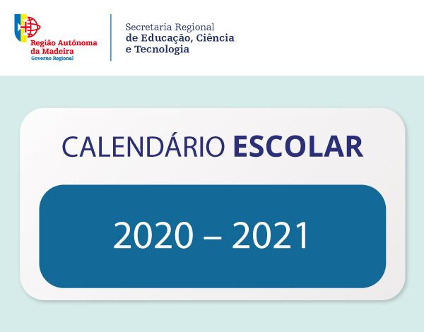 Calendário Escolar 2020/2021