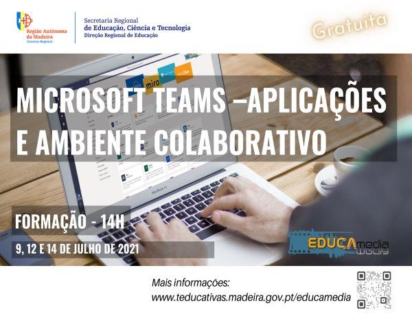 """""""Microsoft Teams – Aplicações e ambiente colaborativo"""""""