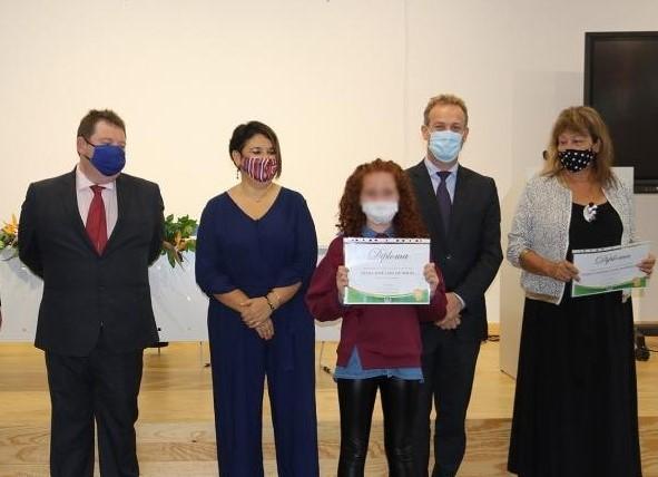 Cerimónia de atribuição de prémios de mérito na Ribeira Brava